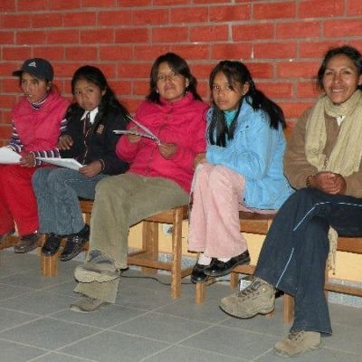"Jugendliche im Projekt ""San Lorenzo"""